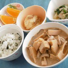 【孟宗汁】(5月22日昼食)