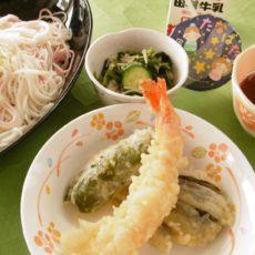 【七夕そうめん】(7月7日昼食)