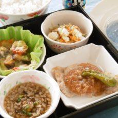 【夏の庄内弁当】(8月15日昼食)