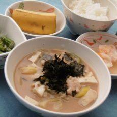 【寒鱈汁】(1月17日昼食)