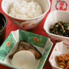 【お正月】(1月1日朝食・昼食・夕食)