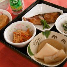 【冬の和食弁当】(1月23日昼食)