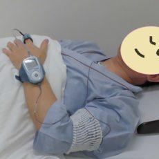 睡眠時無呼吸症候群の検査をはじめました