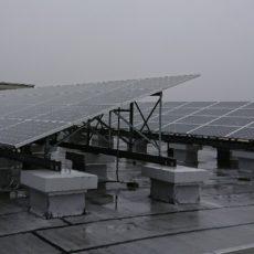 雨の日の屋上