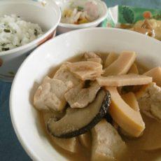 【孟宗汁】(5月21日昼食)