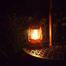 灯油ランプでリフレッシュ