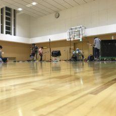 病院祭バンド 練習中~٩( ᐛ )و