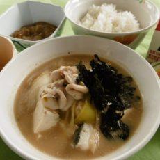 【寒鱈汁】(1月28日昼食)