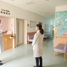 病院見学にいらっしゃいました!