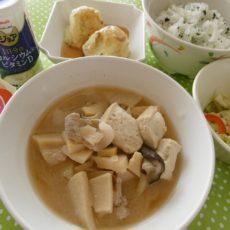 【孟宗汁】(5月13日昼食)